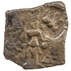 CENTRAL INDIA: Anonymous, 1st century BC, AE square (2.72g). VF
