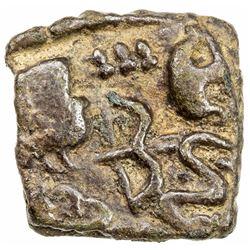 CHERA: Anonymous, ca. 1st century BC, AE square (6.72g). VF