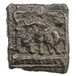SUKTIMATI: Anonymous, 2nd century BC, cast AE square (1.88g). VF-EF