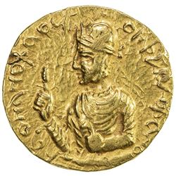 KUSHAN: Huvishka, ca. 155-187, AV dinar (7.95g). EF