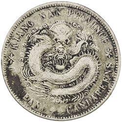 KIANGNAN: Kuang Hsu, 1875-1908, AR 20 cents, CD1902. VF