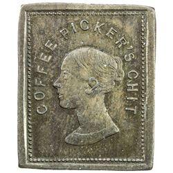 CEYLON: AE 2 1/4 pence, ND. UNC