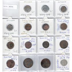 SUMATRA: LOT of 15 coins, retail value $425