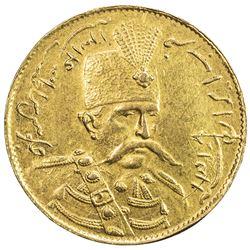 IRAN: Muzaffar al-Din Shah, 1896-1907, AV toman, Tehran, AH1318. EF