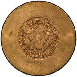 SAUDI ARABIA: AV 4 pounds, ND (1945-46). PCGS MS61