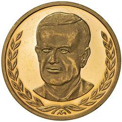 SYRIA: Syrian Arab Republic, AV medal (20.00g), 1985. PF