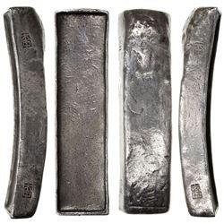 VIETNAM: AR 10 lang (382.6g), ND [ca. 1850]. VF