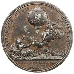 FRANCE: AE die trial (13.01g), 1783. EF