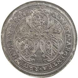 NUREMBERG: Imperial City, AR thaler, 1625. NGC AU55