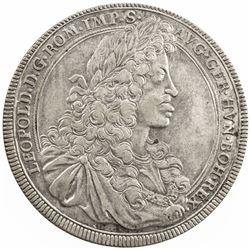 NUREMBERG: Free Imperial City, AR box thaler (11.00g), 1693. EF
