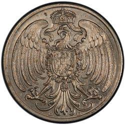 GERMANY: Kaiserreich, 25 pfennig, 1908. PCGS SP64