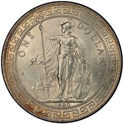 GREAT BRITAIN: AR trade dollar, 1930. PCGS MS64