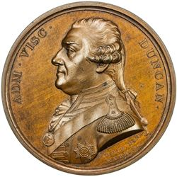 GREAT BRITAIN: AE medal (39.44g), 1797. UNC