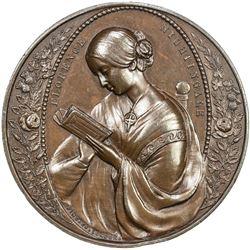 GREAT BRITAIN: AE medal (39.72g), ND (1854-5). AU