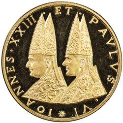VATICAN: Paul VI, 1963-1978, AV medal (.007g). PF