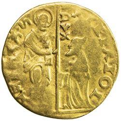 VENICE: Anonymous, AV ducat (3.03g), gold Venetian imitation ducat, uncertain mint, Fine