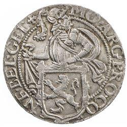 GELDERLAND: Dutch Republic, AR lion daalder, 1607. EF