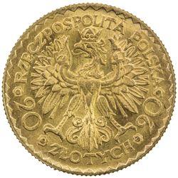POLAND: Republic, AV 20 zlotych, 1925. UNC