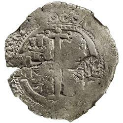 SPANISH NETHERLANDS: Philip IV, 1621-1665, AR 48 patards (26.05g), Brabant, ND [1652-72]. NGC VF30
