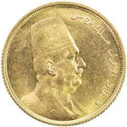 EGYPT: Fuad, as King, 1922-1936, AV 50 piastres, 1923/AH1341. UNC