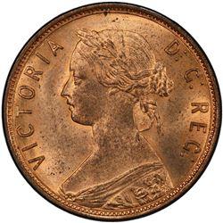 NEWFOUNDLAND: Victoria, 1837-1901, AE cent, 1896. PCGS MS65