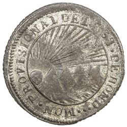 HONDURAS: State, BI 4 reales (6.41g), 1852-T. EF-AU