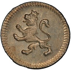 MEXICO: Fernando VII, 1808-1821, AR 1/4 real, 1810-Mo. PCGS MS65