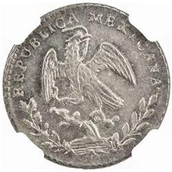 MEXICO: Republic, AR real, 1868/7-Go