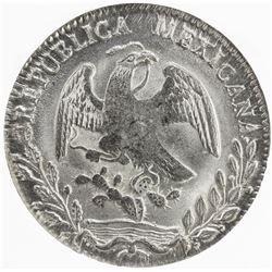 MEXICO: Republic, AR 8 reales, 1863-O