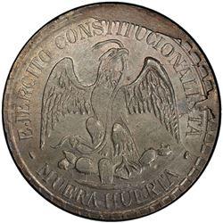 MEXICO: Revolutionary Issue, AR peso, Durango, 1914. PCGS MS63
