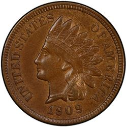 UNITED STATES: 1909-S Indian Head 1C PCGS VF30
