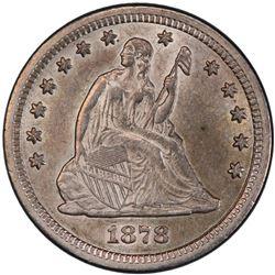 UNITED STATES: 25 cents, 1878-CC