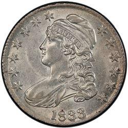 UNITED STATES: 1833 Bust 50C PCGS AU50