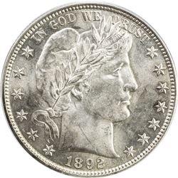 UNITED STATES: 1892 Barber 50C
