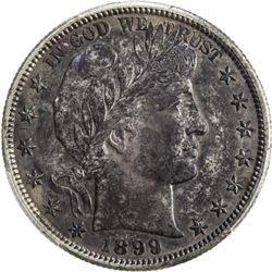 UNITED STATES: 1899-O Barber 50C
