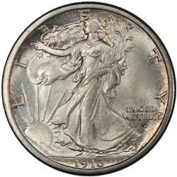 UNITED STATES: AR 50 cents, 1916-D