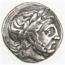 CELTIC of EASTERN EUROPE: Anonymous, 3rd century BC, AR tetradrachm (13.93g). VF