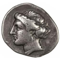 EUBOEA: AR drachm (3.62g), ca. 304-290 BC. F-VF