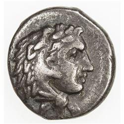 ILLYRIAN CITIES: AR drachm (2.17g), Dyrrhachion, 3rd century BC. F-VF