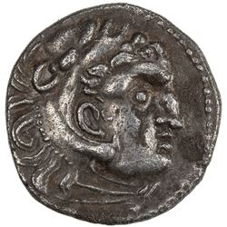 MACEDONIAN KINGDOM: Alexander III, the Great, 336-323, AR drachm (4.04g). VF-EF