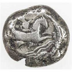 TYRE: Anonymous, ca. 425-394 BC, AR shekel (12.84g). F-VF