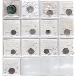 ANCIENT & MEDIEVAL: LOT of 13 ancient and medieval coins