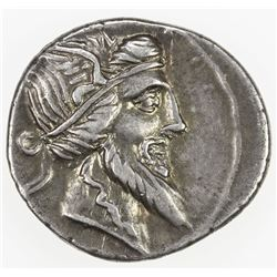 ROMAN REPUBLIC: Q. Titius, 90 BC, AR denarius (3.94g), Rome. VF