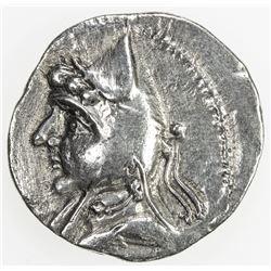 PARTHIAN KINGDOM: Mithradates I, c. 171-138 BC, AR drachm (3.64g). VF