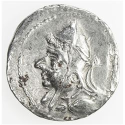PARTHIAN KINGDOM: Mithradates I, c. 171-138 BC, AR drachm (3.58g). VF