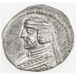 PARTHIAN KINGDOM: Phraates III, c. 70-57 BC, AR drachm (3.78g), Ekbatana. EF