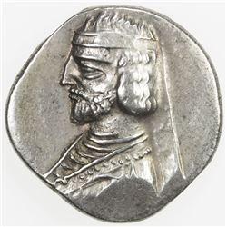PARTHIAN KINGDOM: Phraates III, c. 70-57 BC, AR drachm (4.15g), the Court mint. VF
