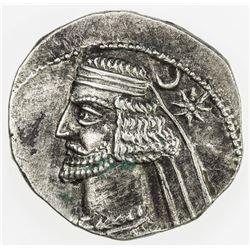 PARTHIAN KINGDOM: Mithradates III, c. 57-54 BC, AR drachm (3.92g), Mithradatkart. VF-EF