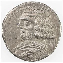 PARTHIAN KINGDOM: Orodes II, c. 57-38 BC, AR tetradrachm (13.11g), Seleukeia on the Tigris, ND. VF