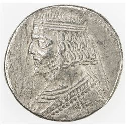 PARTHIAN KINGDOM: Orodes II, c. 57-38 BC, AR tetradrachm (12.95g), Seleukeia on the Tigris, ND. VF
